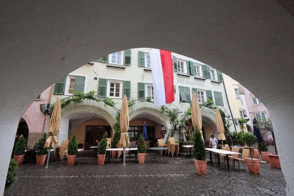 Arkaden in der Innenstadt von Brixen