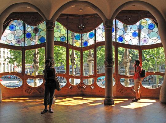 Innenraum der Casa Batlló