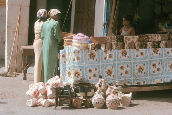 Tetouan, Stand mit türkischem Honig