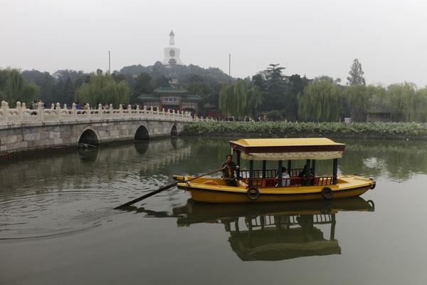 Blick auf die Jadeinsel im Beihai-Park