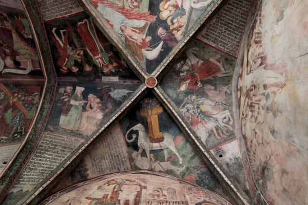 Fresken im Kreuzgang des Brixener Doms