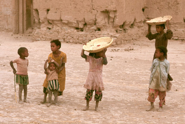 Kinder in Ouarzazate