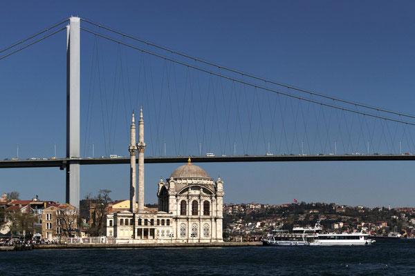 Unterwegs auf dem Bosporus