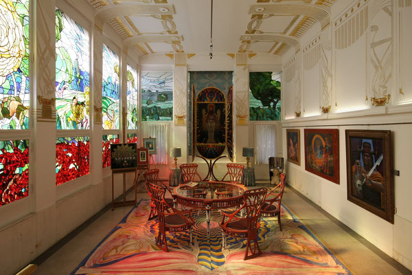 Ernst Fuchs Museum, Innenraum