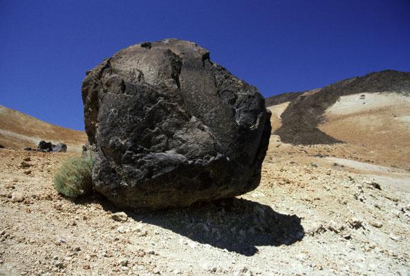 Teide-Ei (erstarrte Lavabombe)