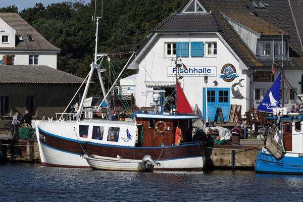 Fischerhafen auf Hiddensee