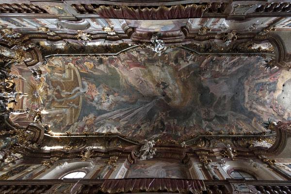 Deckengemälde Asamkirche München