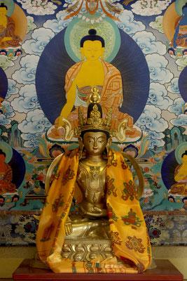 Residenz des Prinzen Gong, Altar mit Bodhisattva