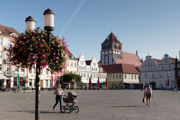 Marktplatz von Greifswald