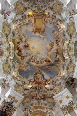 Deckengemälde der Wieskirche