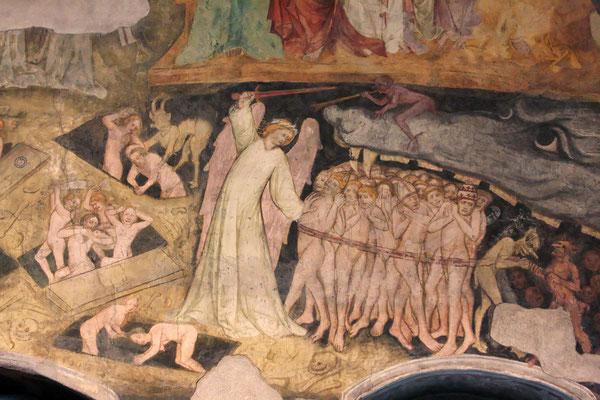Fresko der Spitalkirche von Sterzing