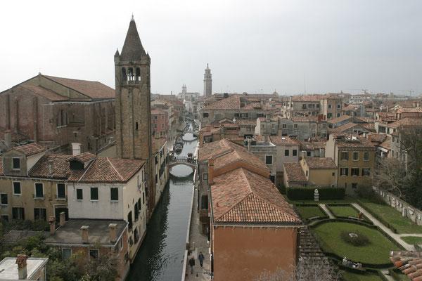 Blick aus der Ca' Rezzonico