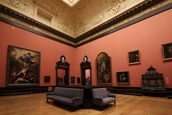 Saal des Kunsthistorischen Museums
