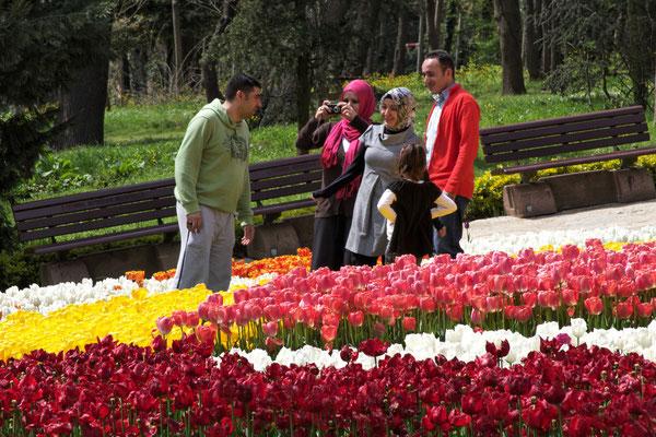 Emirgan-Park (während des Tulpenfests)