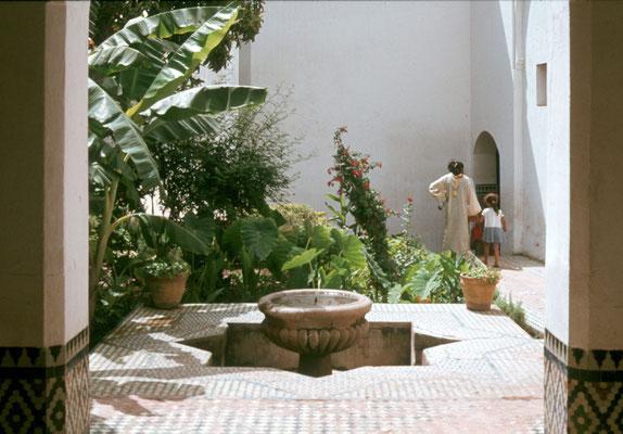 Innenhof eines Stadtpalastes