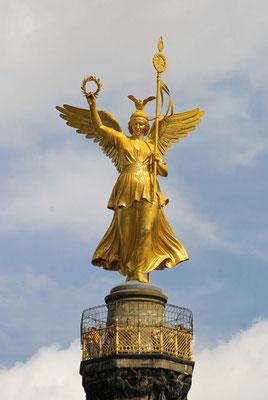 """Goldelse"" auf der Siegessäule"