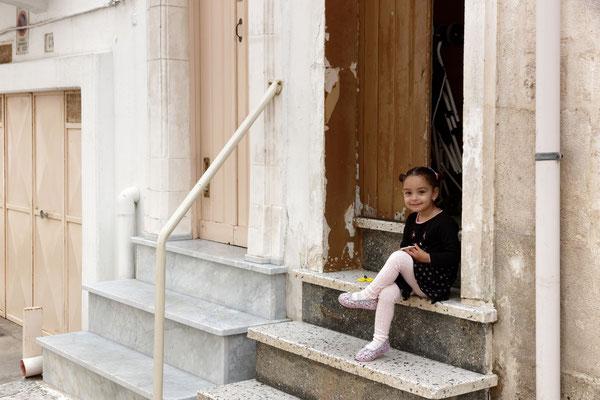Kleines Mädchen in Ostuni