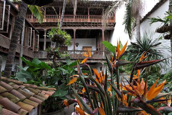 Traditionelles Haus in der Altstadt von La Orotava