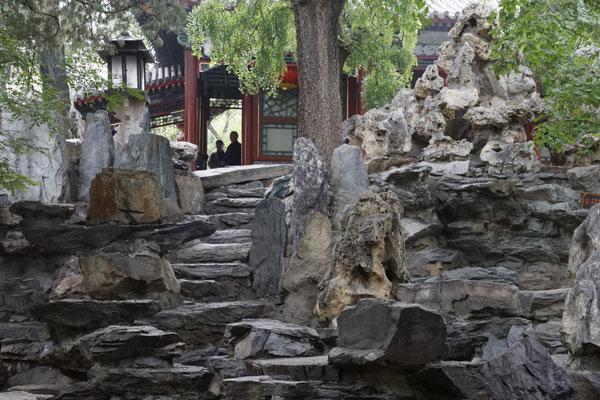 Residenz des Prinzen Gong, Steingarten
