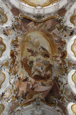 Deckengemälde Zwiefaltener Münster