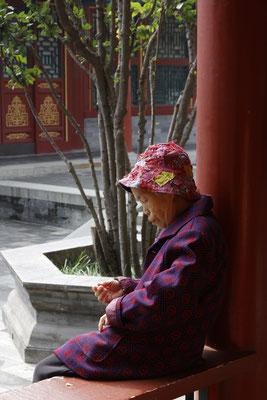 Residenz des Prinzen Gong, alte Dame
