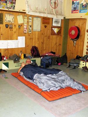 Nachtlager in Alice -