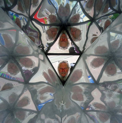 ins Kaleidoskop geschaut  -  looking into a kaleidoscope