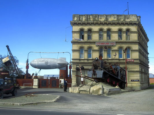 Steampunk Headquarters in Oamaru