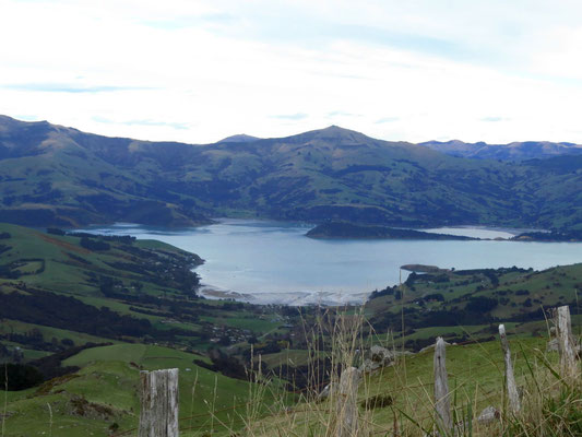 Fjord on Banks Peninsula