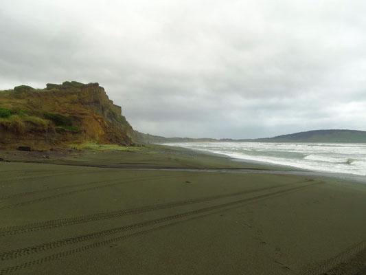 Gemstone Beach, wir haben aber keine Edelsteine gefunden  -  we did not find any though