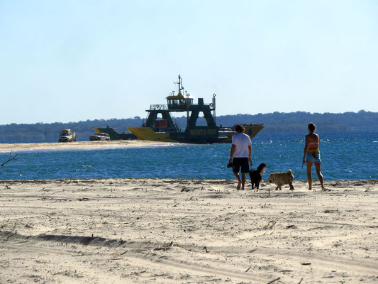 Fähre nach Fraser island