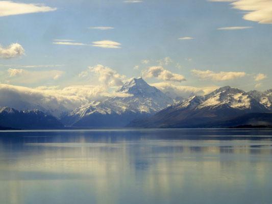 Lake Tekapo and Mt. Cook