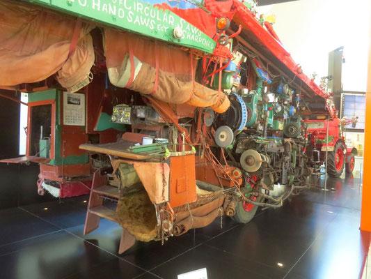 im Australischen Museum - Canberra