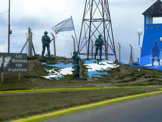 Las Malvinas sont Argentinas !