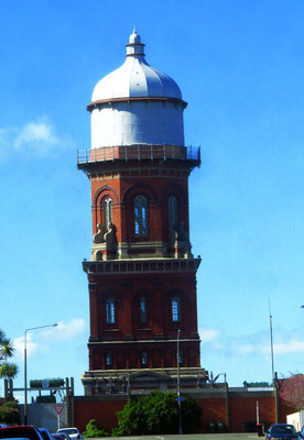 der Wasserturm in Invercargill -  the water tower in Invercargill