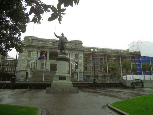 Parliament buildings in Wellington  -  Regierungsgebäude in Wellington