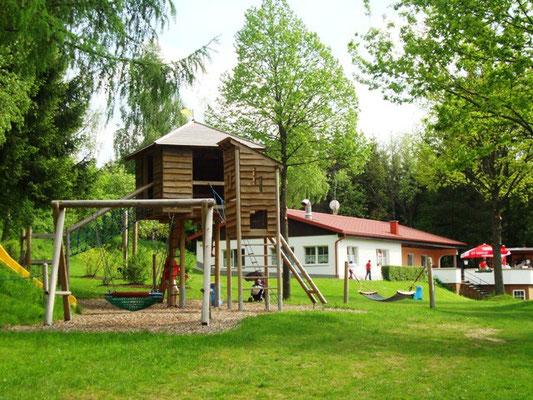 Spielplatz Badesee Klaffer (See, Buffet, Gastgarten, Parkplatz) - nur 1 km entfernt