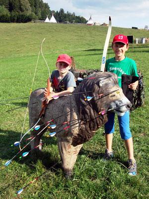 Bogensport - ideal für Familien - in Peilstein