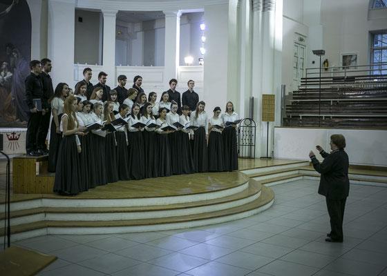 Хор вокалистов Музыкального училища им.Римского-Корсакова