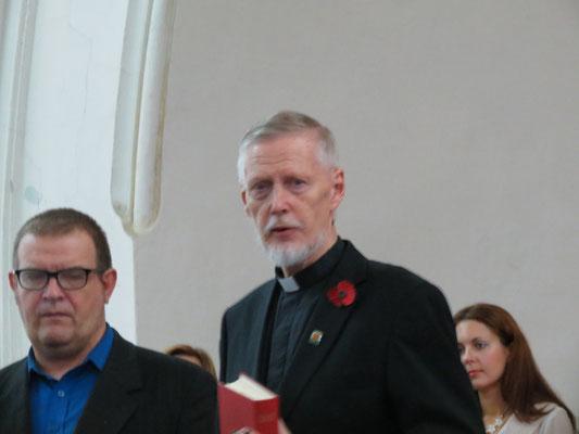 """9.11.14. Открытие """"Ре-лиго"""" 2014 в Шведской церкви. Говорит пробст  Ээро Сеппонен"""