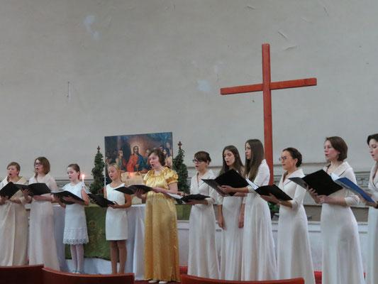 Концерт-открытие фестиваля в Шведской церкви. 9.11.14