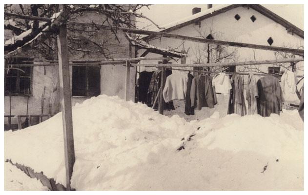 Auch im Winter wurde hart gearbeitet