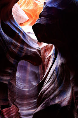 USA. Antelope Canyon