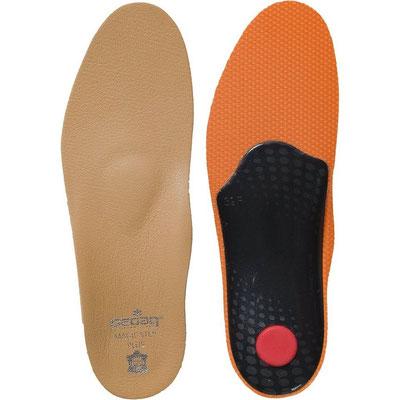 Leder Fußbett Einlage mit Memory Foam * Beratung und Tipps zu diesem Produkt erhalten Sie im Geschäft