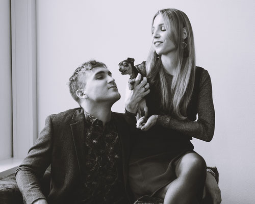 Raquel & Thomas of Son of a Brand Agency - photographed by Landa Penders