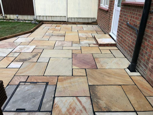 Paving, driveways and brickwork