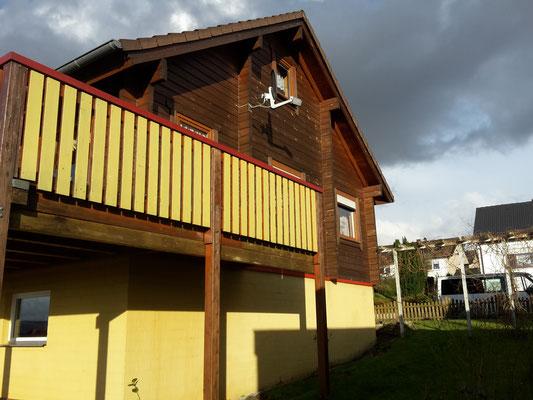 HoWeCa - Holzfassade Schwedenhaus vor der Sanierung