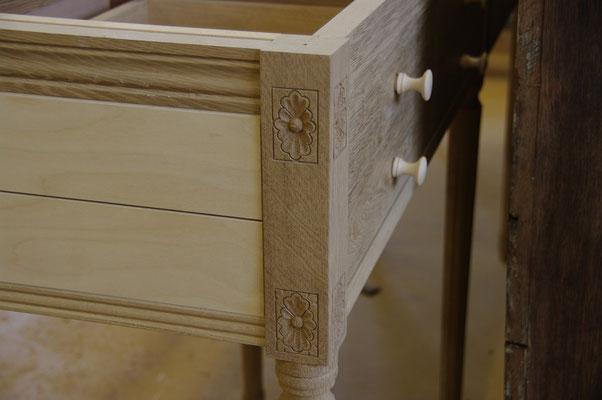 HoWeCa - Eiche Anrichte mit Geheimversteck - Hidden and Safe Möbel - , Detail-Ansicht, Privatkunde