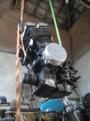 préparation du moteur 1