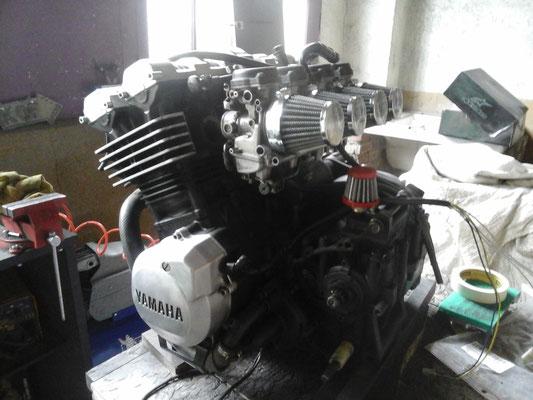 préparation du moteur 4
